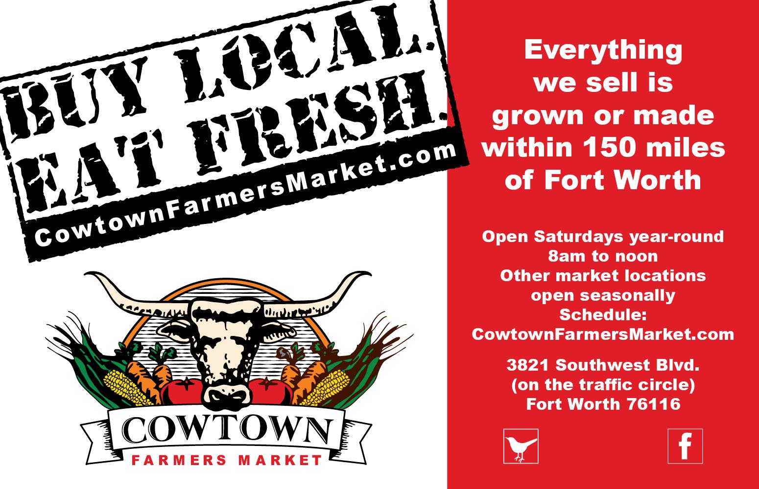 Cowtown Farmer's Market Ad