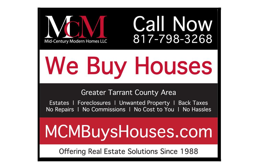 MCM Homes Ad